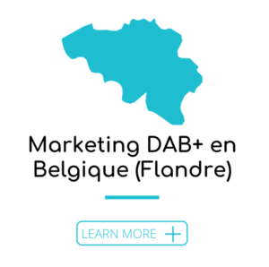 Marketing DAB+ en Belgique (Flandre)