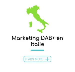 Marketing DAB+ en Italie