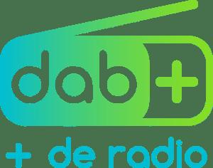 Logo DAB+ plus de radio