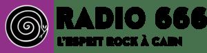 Logo allongé Radio 666