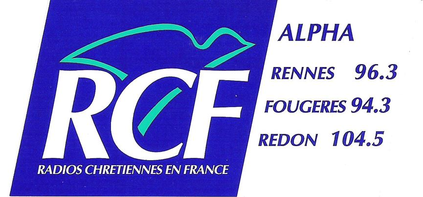 RCF Alpha Logo 4 des 20 ans en 2003 autocollant