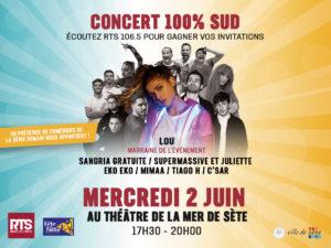 Plateau Concert RTS 100% Sud