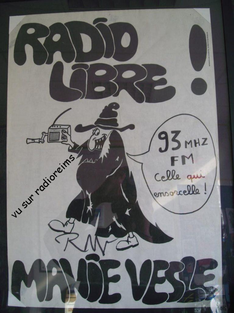 Affiche Radio Manie-Vesle