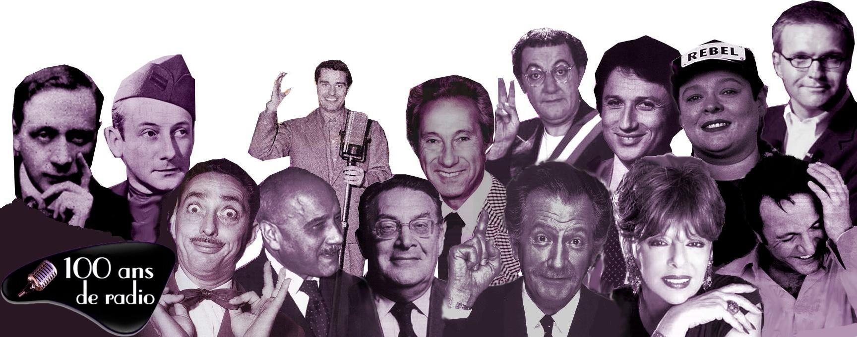 100 ans de radio, le site