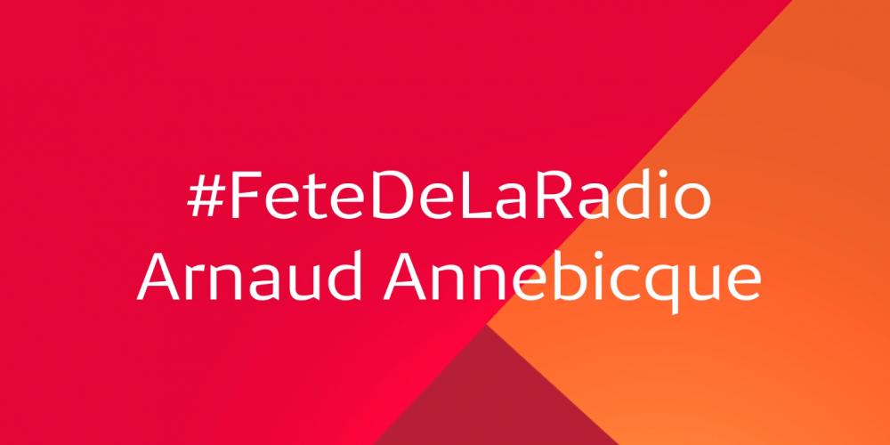 "Médiamétrie, partenaire de la Fête de la Radio ! ""MaRadio"" de Arnaud Annebicque"