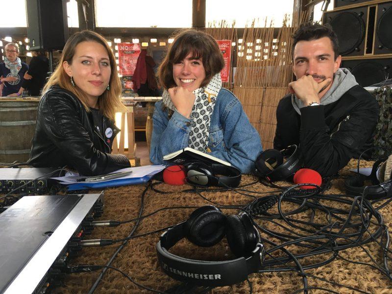 Les bénévoles de Radio Campus Besançon