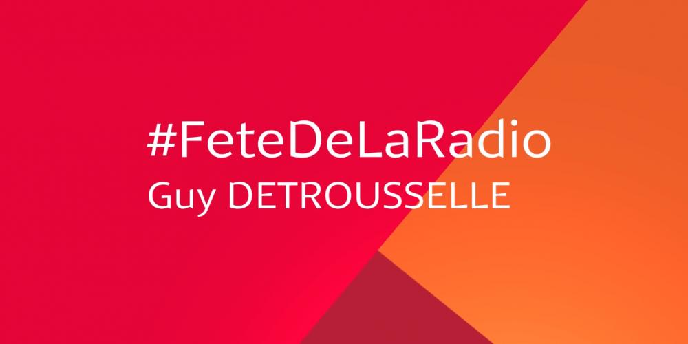 """Médiamétrie, partenaire de la Fête de la Radio ! """"MaRadio"""" de Guy Detrousselle"""