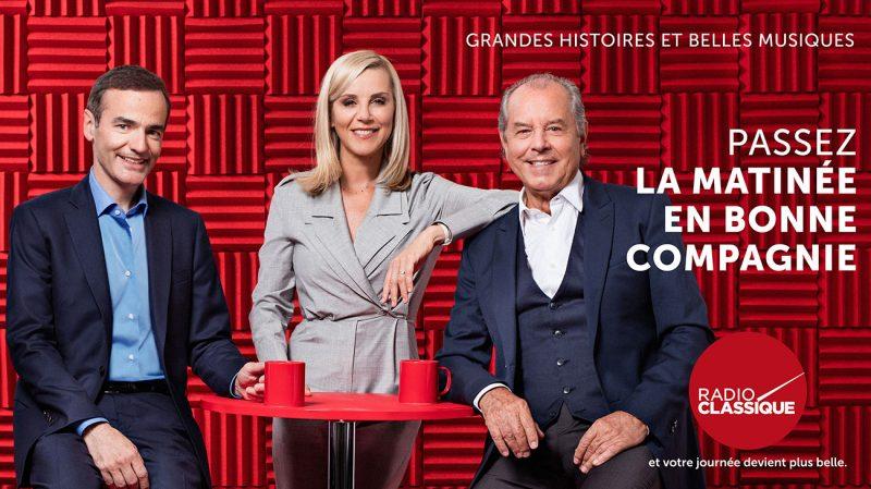 La Matinée avec Laurence Ferrari, Christian Morin et Franck Ferrand