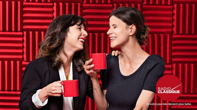 Margot Delattre et Elodie Fondacci, voix du we