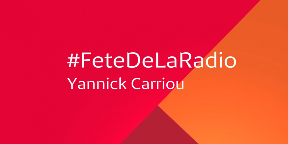 "Médiamétrie, partenaire de la Fête de la Radio ! ""MaRadio"" de Yannick Carriou"