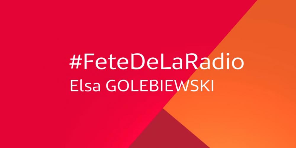"""Médiamétrie, partenaire de la Fête de la Radio ! """"MaRadio"""" de Elsa Golebiewski"""