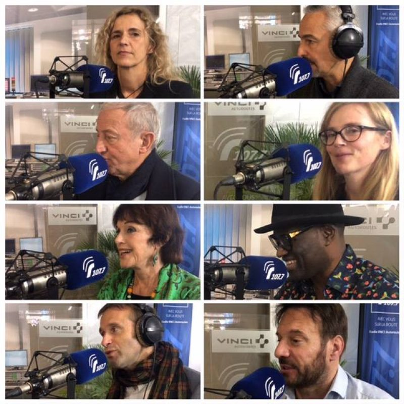 Les personnalités au micro de Radio VINCI Autoroutes