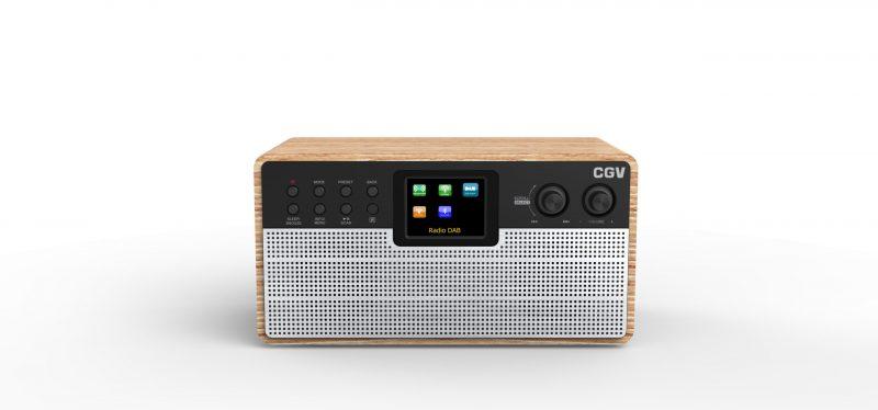Radio numérique DR30i+BT en bois FSC