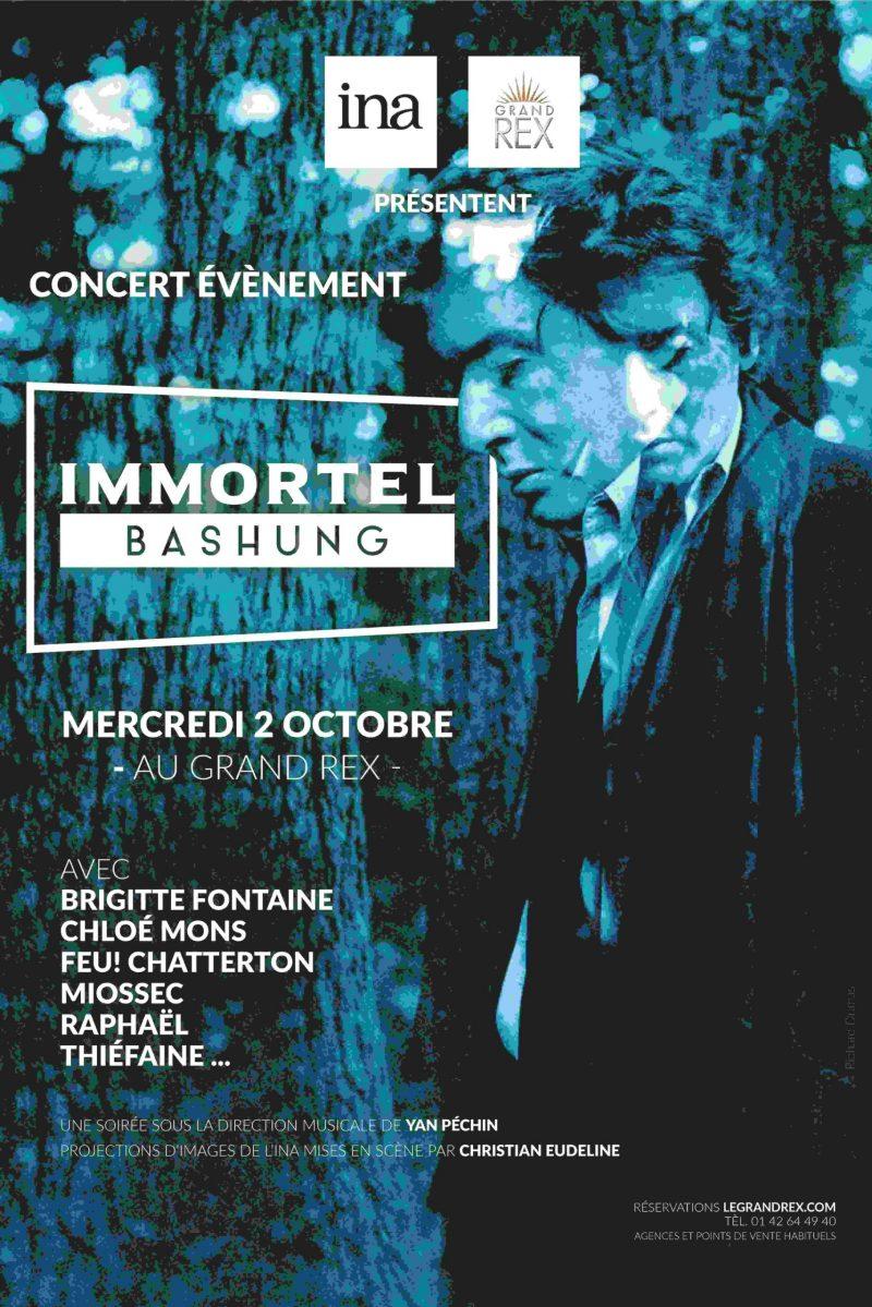 Concert patrimonial IMMORTEL BASHUNG au Grand Rex