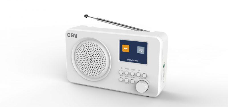 Une radio numérique ultra compact DR6+