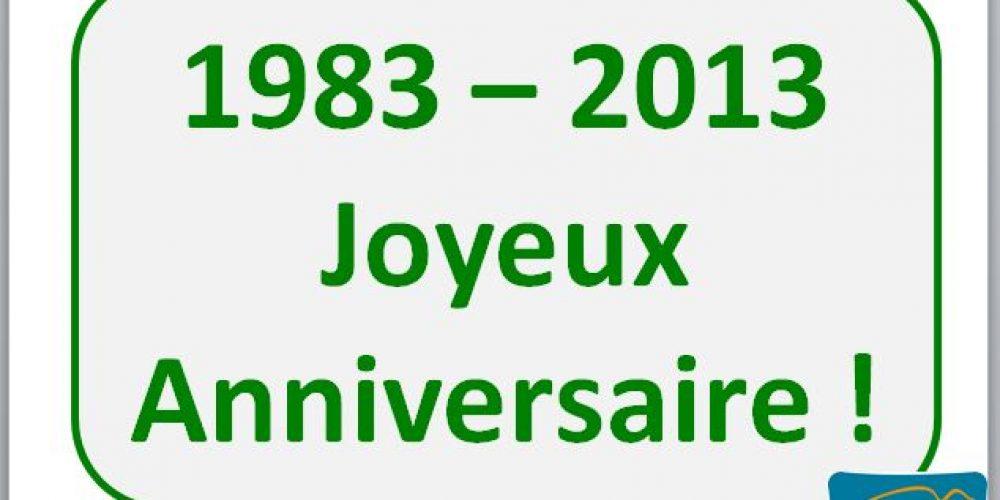 2013  – RCF Alpha  Les 30 ans – Extraits du diaporama