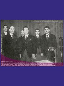 1937 – le Front Populaire essaie d'étendre son contrôle sur la radio publique.