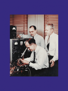 1947 – Premier transistor bipolaire