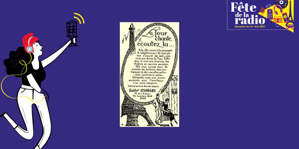 1922 – Développement de la radiodiffusion Grand Public