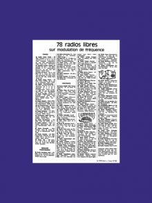 1978 – Naissance de la Fédération Nationale des Radios Libres