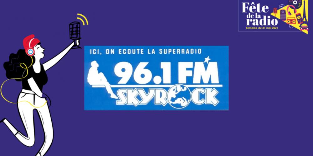 1986 – Skyrock est créée le 21 mars