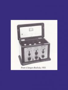 1933 –  la redevance de récepteur radiophonique