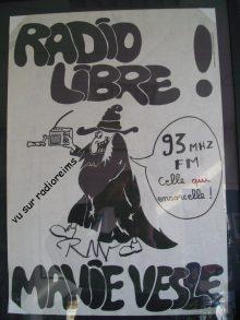 1979 : prise d'antenne de Radio Manie-Vesle