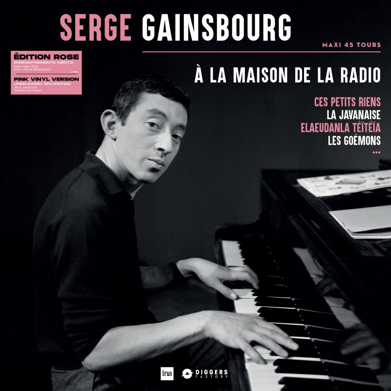 Vinyle Serge Gainsbourg collection 33 Tours avec l'INA