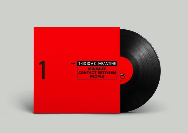 This is quarantine vinyle 1 Arnaud Rebotini