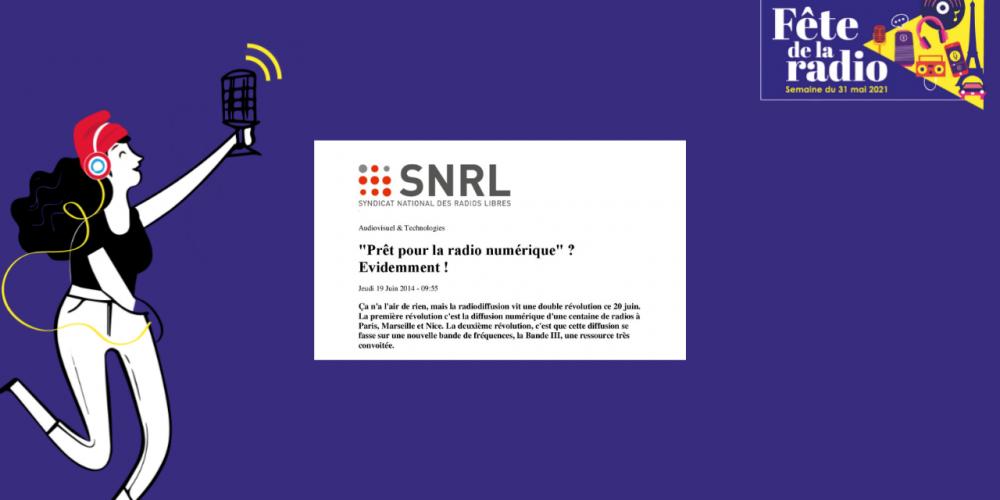 2014 – lancement de la RNT en DAB+