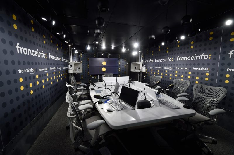 Studio 421 franceinfo © Christophe Abramowitz/Radio France