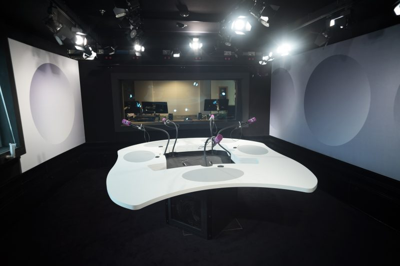 Un studio de France Culture © Christophe Abramowitz/Radio France