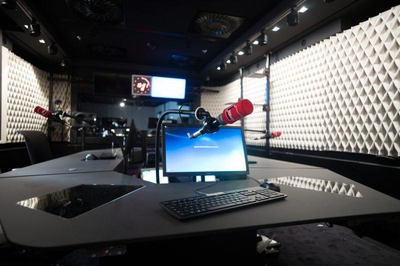 Un studio de France Musique © Christophe Abramowitz/Radio France